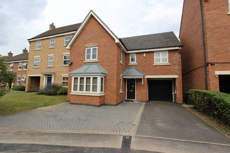 4 Bedrooms Detached House for sale in Gough Drive, Tipton