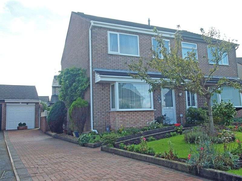 3 Bedrooms Semi Detached House for sale in Kingsmuir Close, Heysham
