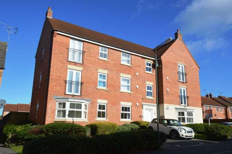 2 Bedrooms Flat for sale in ALONSO CLOSE, CHELLASTON