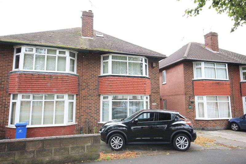 4 Bedrooms Semi Detached House for sale in OSMASTON ROAD, ALLENTON