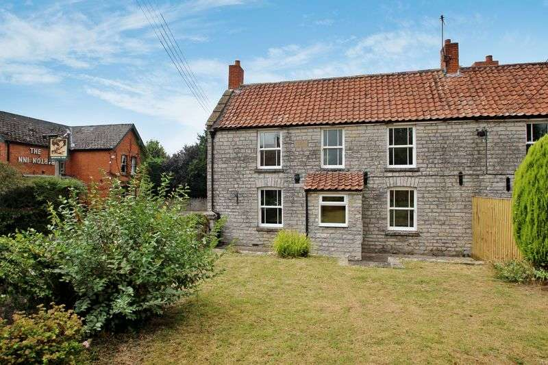 2 Bedrooms Semi Detached House for sale in Main Street, Barton St David