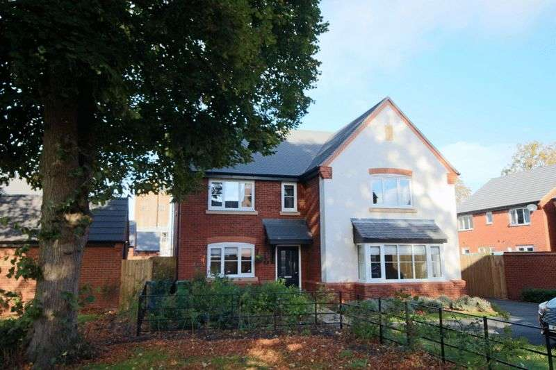 5 Bedrooms Detached House for sale in Colton Close, St Georges Parkway, Stafford