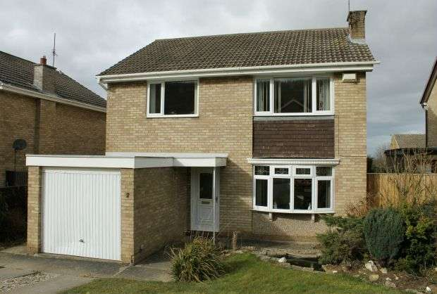 4 Bedrooms Detached House for sale in Oakley Close, Hunters Hill, Guisborough