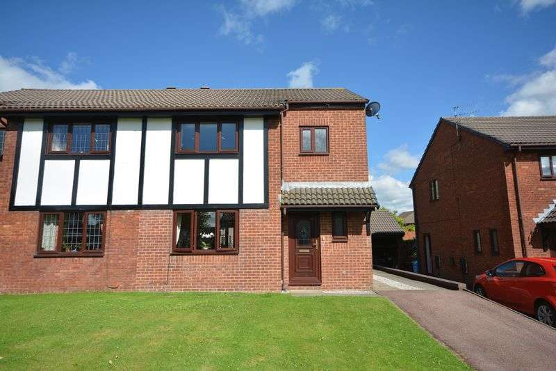 3 Bedrooms Semi Detached House for sale in Pine Close, Rishton, Blackburn