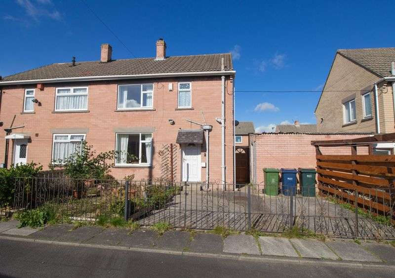 3 Bedrooms Semi Detached House for sale in Windermere Crescent, Winlaton