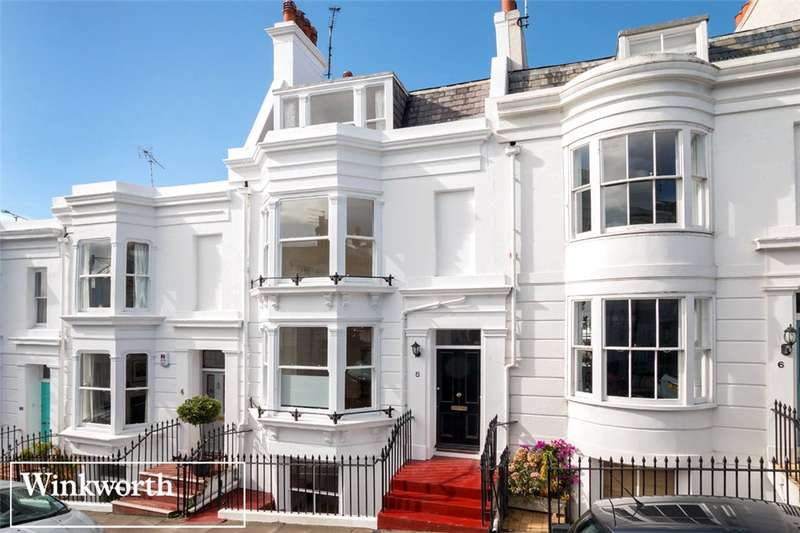 5 Bedrooms Terraced House for sale in Montpelier Street, Brighton, East Sussex, BN1