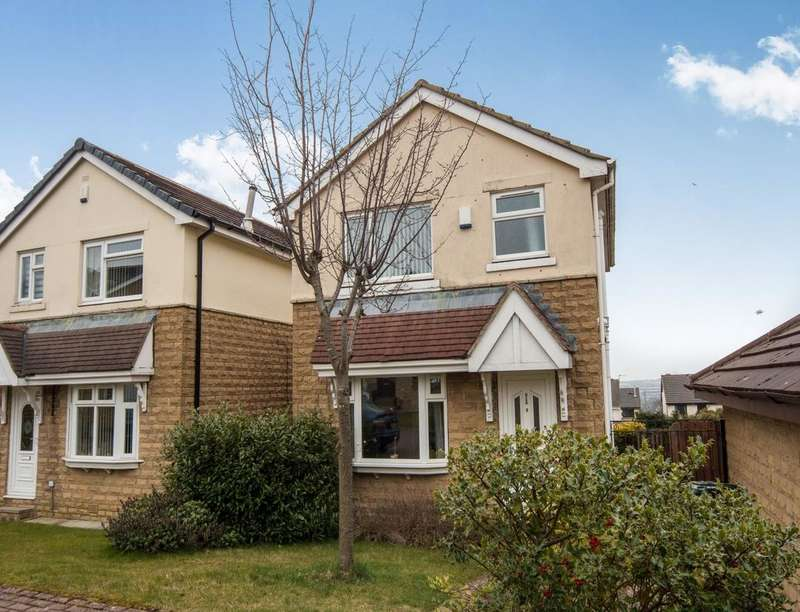 3 Bedrooms Detached House for sale in Hector Close, Bradford, BD6