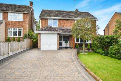 4 Bedrooms Detached House for sale in Summercourt Drive, Ravenshead, Nottingham, Nottinghamshire