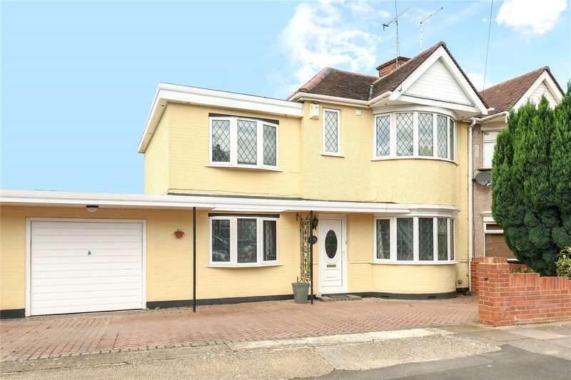 4 Bedrooms End Of Terrace House for sale in Bridgwater Road, South Ruislip, Middlesex, HA4
