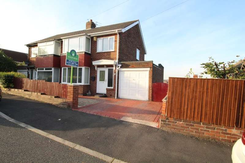 3 Bedrooms Semi Detached House for sale in Clavering Road, Swalwell, NE16