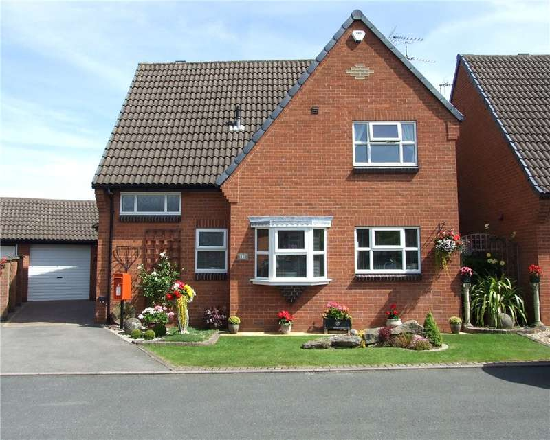 3 Bedrooms Detached House for sale in Upper Barn Close, Heanor, Derbyshire, DE75