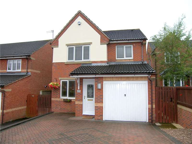 3 Bedrooms Detached House for sale in Matt Orchard, South Normanton, Alfreton, Derbyshire, DE55