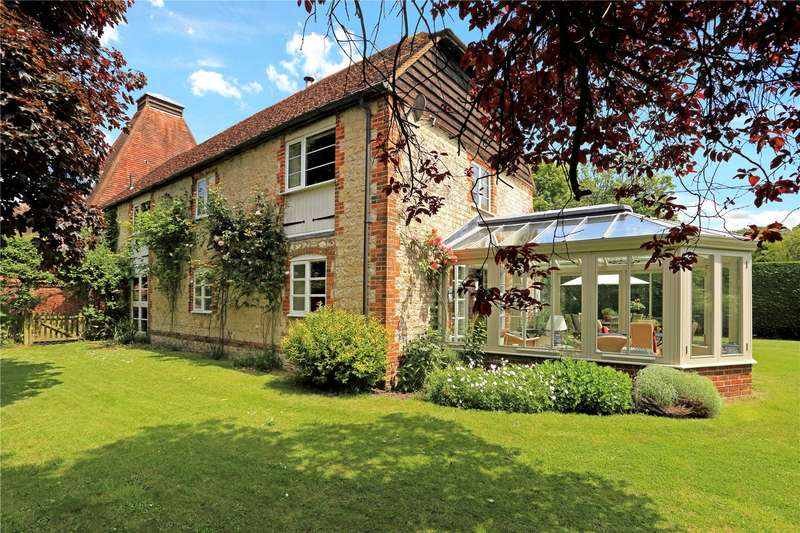 5 Bedrooms Barn Conversion Character Property for sale in Wyck Lane, East Worldham, Alton, Hampshire, GU34