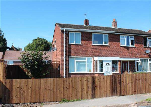 2 Bedrooms Semi Detached House for sale in Patterdale Road, Cannock