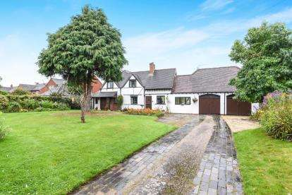 4 Bedrooms Detached House for sale in Dunnington, Alcester, Warwickshire, Dunnington