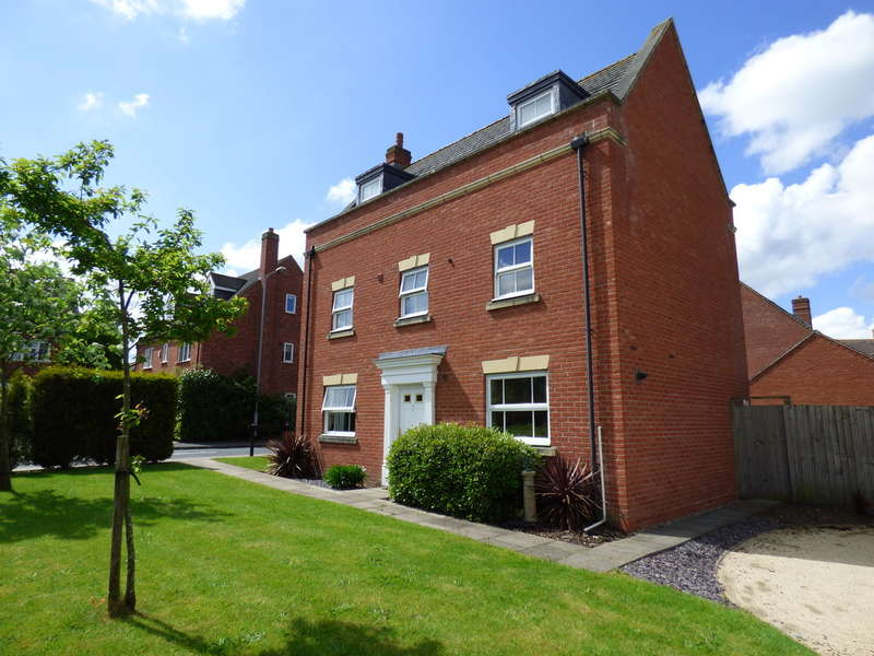 5 Bedrooms Detached House for sale in Deykin Road, Lichfield