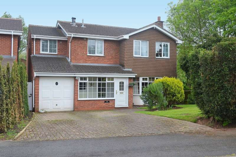 5 Bedrooms Detached House for sale in Yew Tree Avenue, Lichfield, WS14 9UA
