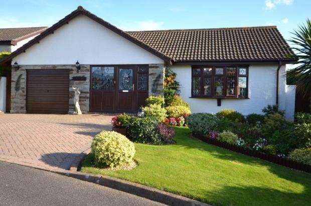 3 Bedrooms Detached Bungalow for sale in Edgcumbe Road, St Dominick, Saltash, Cornwall