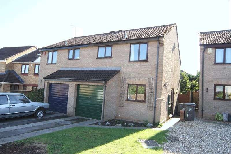 3 Bedrooms Semi Detached House for sale in Glanville Gardens, Bristol