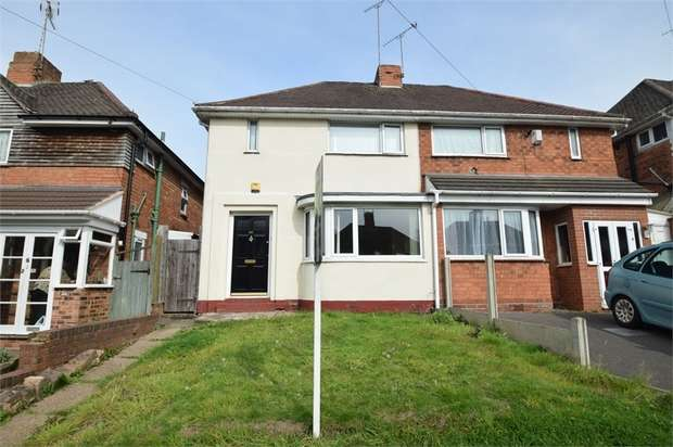3 Bedrooms Semi Detached House for sale in Lewis Road, OLDBURY, West Midlands