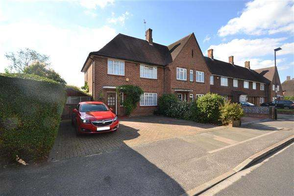 3 Bedrooms End Of Terrace House for sale in Grovestile Waye, Bedfont