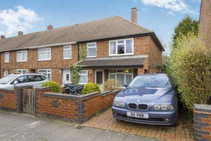 3 Bedrooms End Of Terrace House for sale in Allenwood Road, Eyres Monsell, Leicester, Leicestershire