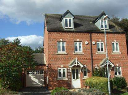 3 Bedrooms Semi Detached House for sale in Belvoir Vale Grove, Bingham, Nottingham, Nottinghamshire