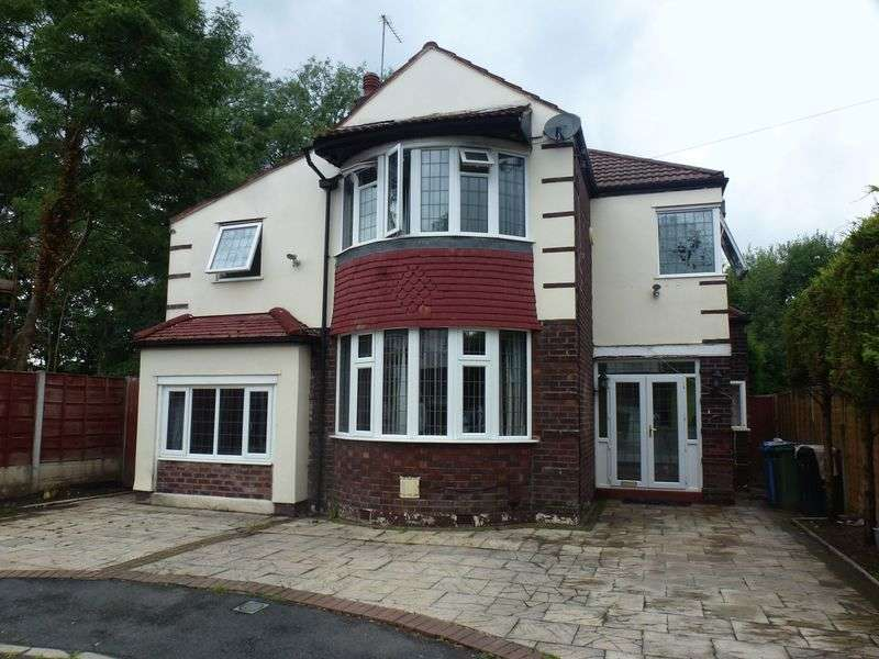 4 Bedrooms Detached House for sale in Brentwood Drive, Gatley