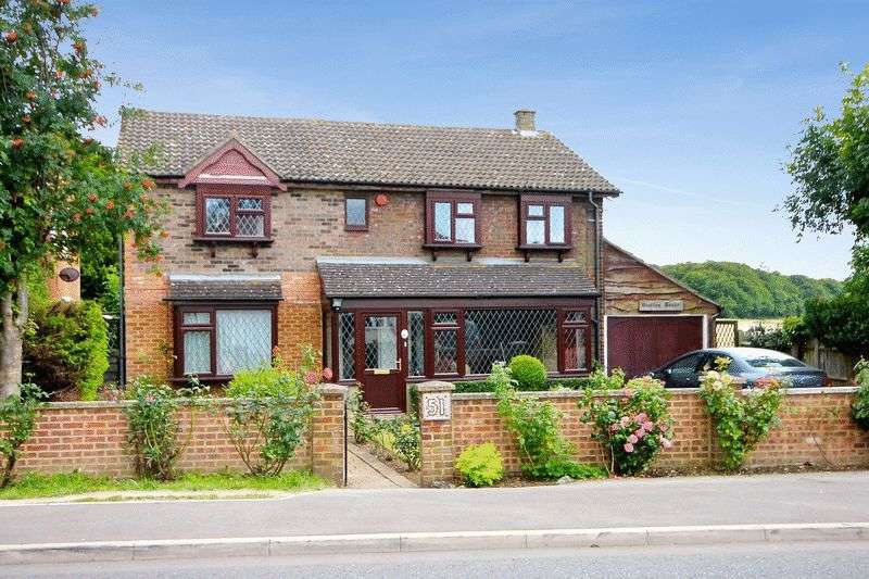 4 Bedrooms Detached House for sale in Markyate Road, Slip End