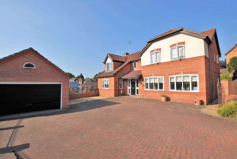 5 Bedrooms Detached House for sale in Buscott Drive, Ashbourne