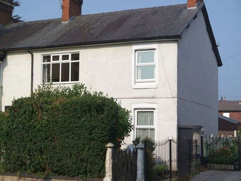2 Bedrooms Semi Detached House for sale in Cocknage Road, Dresden, Stoke-On-Trent, ST3 4AT