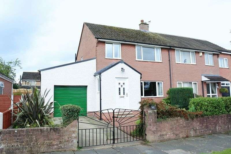 3 Bedrooms Semi Detached House for sale in Mallyclose Drive, Carlisle