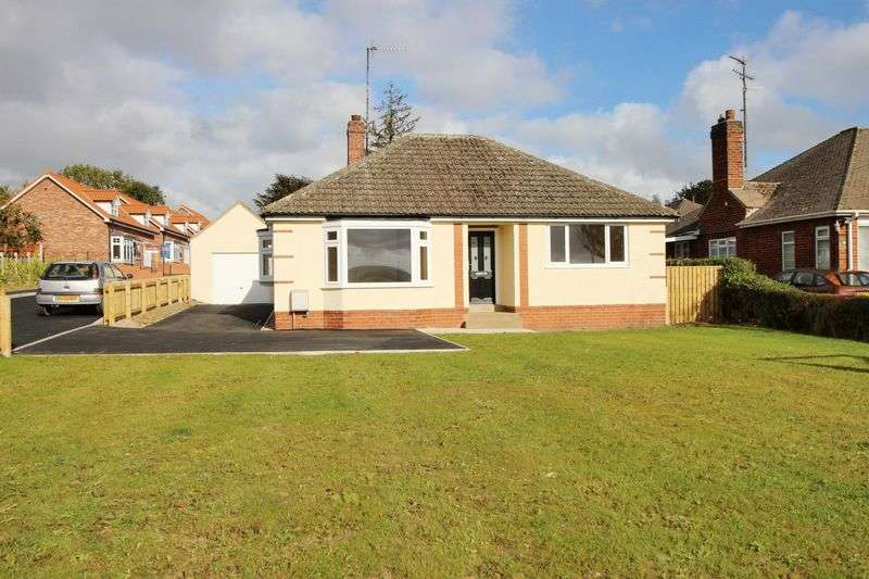 2 Bedrooms Detached Bungalow for sale in 91 Racecourse Road, Scarborough, YO13 9HT