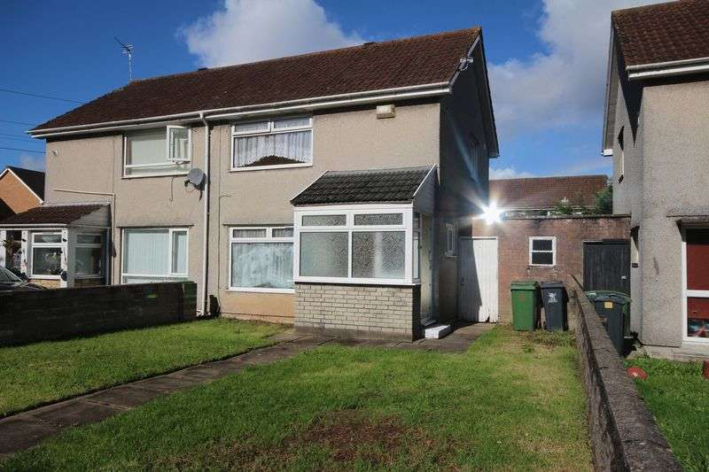 2 Bedrooms Semi Detached House for sale in Trebanog Crescent, Rumney