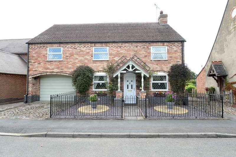 4 Bedrooms Detached House for sale in The Green, Dadlington, Leicestershire, CV13