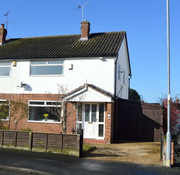 3 Bedrooms Semi Detached House for sale in Thornton Drive, Chester, Cheshire, CH2