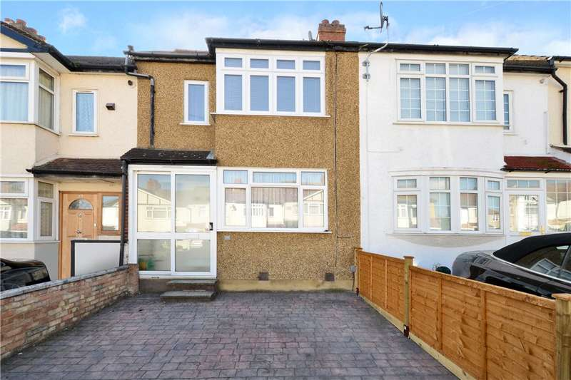 2 Bedrooms Terraced House for sale in Conrad Drive, Worcester Park, KT4