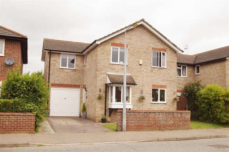 4 Bedrooms Detached House for sale in Wheatfield Road, Stanway, Colchester