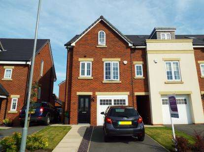 4 Bedrooms Semi Detached House for sale in Sandfield Crescent, Whiston, Prescot, Merseyside, L35