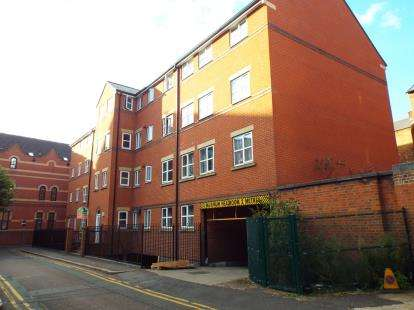 2 Bedrooms Flat for sale in Minster Court, 2 Lower Brown Street, Leicester, Leicestershire