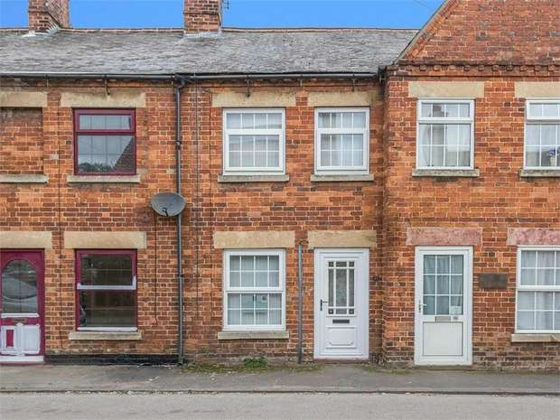 2 Bedrooms Terraced House for sale in High Street, Corby Glen, Grantham, Lincolnshire