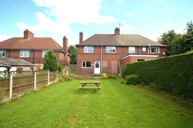 3 Bedrooms Semi Detached House for sale in Shakespeare Street, Holmewood, Chesterfield, S42