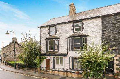 5 Bedrooms End Of Terrace House for sale in London Road, Corwen, ., Denbighshire, LL21
