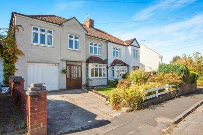 4 Bedrooms Semi Detached House for sale in Chesterfield Road, Downend, Bristol, Gloucestershire