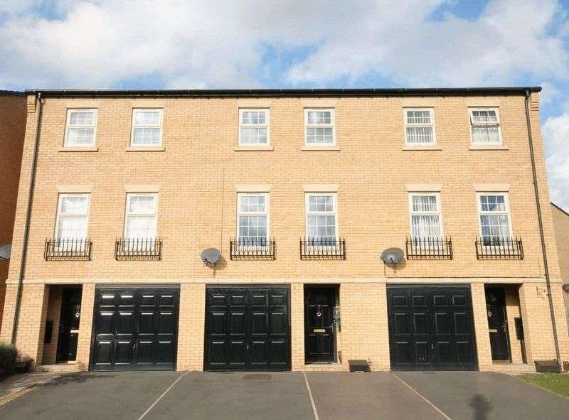 4 Bedrooms Terraced House for sale in HARPUR AVENUE, LITTLEOVER