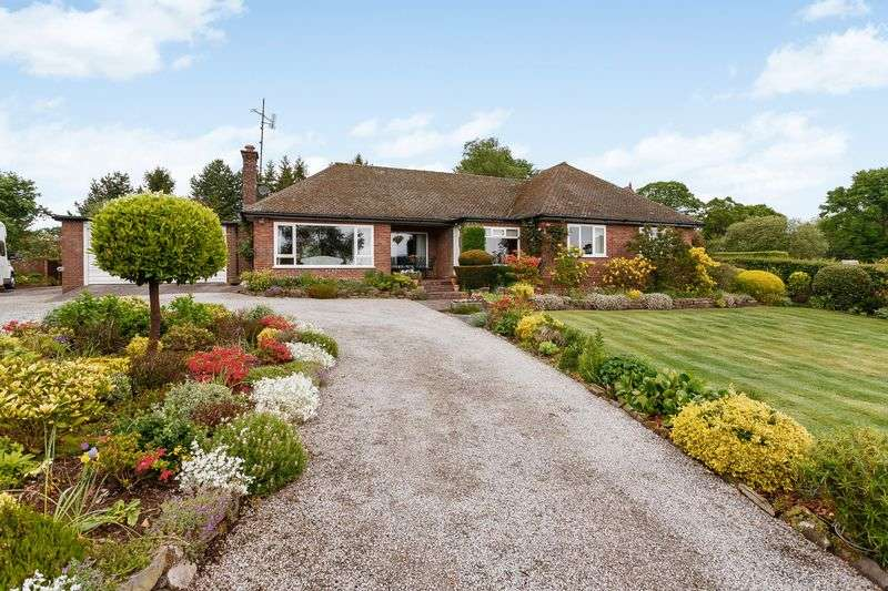 3 Bedrooms Detached Bungalow for sale in Mouldsworth, Nr Chester