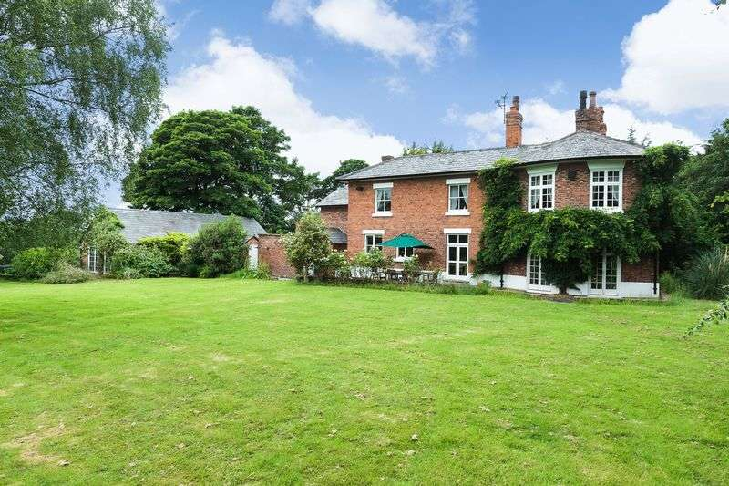 6 Bedrooms Detached House for sale in Tilstone Fearnall, Tarporley