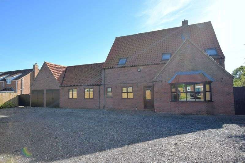 4 Bedrooms Detached House for sale in High Thorpe, Southrey, Lincoln