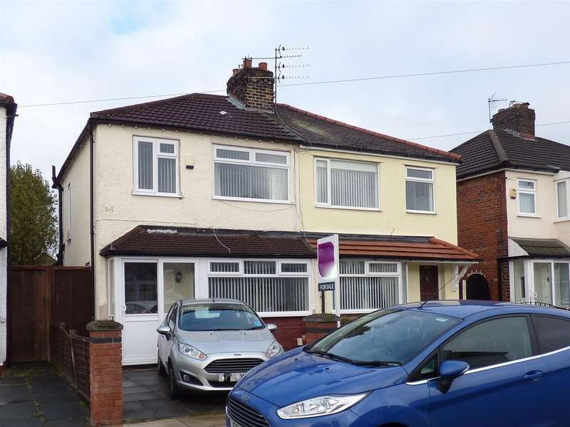 3 Bedrooms Semi Detached House for sale in Easton Road, Huyton, Liverpool