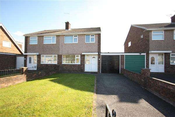 3 Bedrooms Semi Detached House for sale in Hope Farm Road, Great Sutton, Ellesmere Port